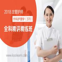 2018年主管护师-精讲精练班(外科护理学370)