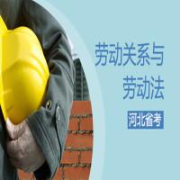 劳动关系与劳动法(河北省考)串讲班