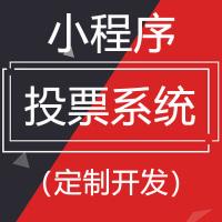 小程序投票系统(定制)