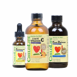 美国童年时光组合套 维C营养液加第一防御液加紫雏菊营养液