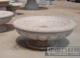 五莲石花盆