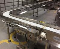 食品包装输送柔性链板流水线