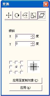 激光打标机软件中字体图形的倾斜  第2张
