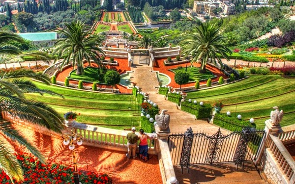 巴哈伊空中花园