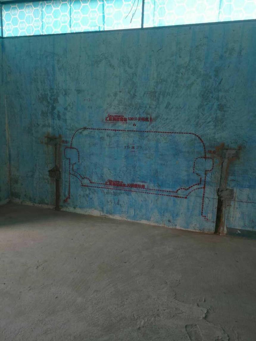 成都业之峰汇巢别墅设计在施工地图片