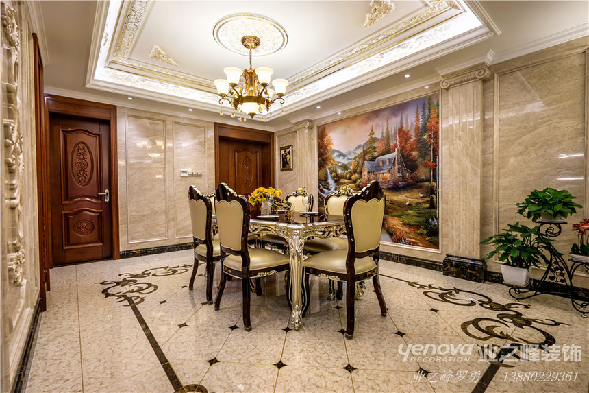 成都专业别墅装修设计 业之峰海伦国际别墅设计实景案例