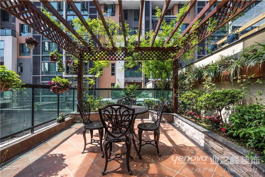 成都專業別墅裝修設計 業之峰海倫國際別墅設計實景案例