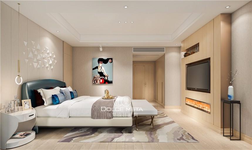 業之峰匯巢別墅裝修設計案例 蔚藍卡地亞別墅設計效果圖