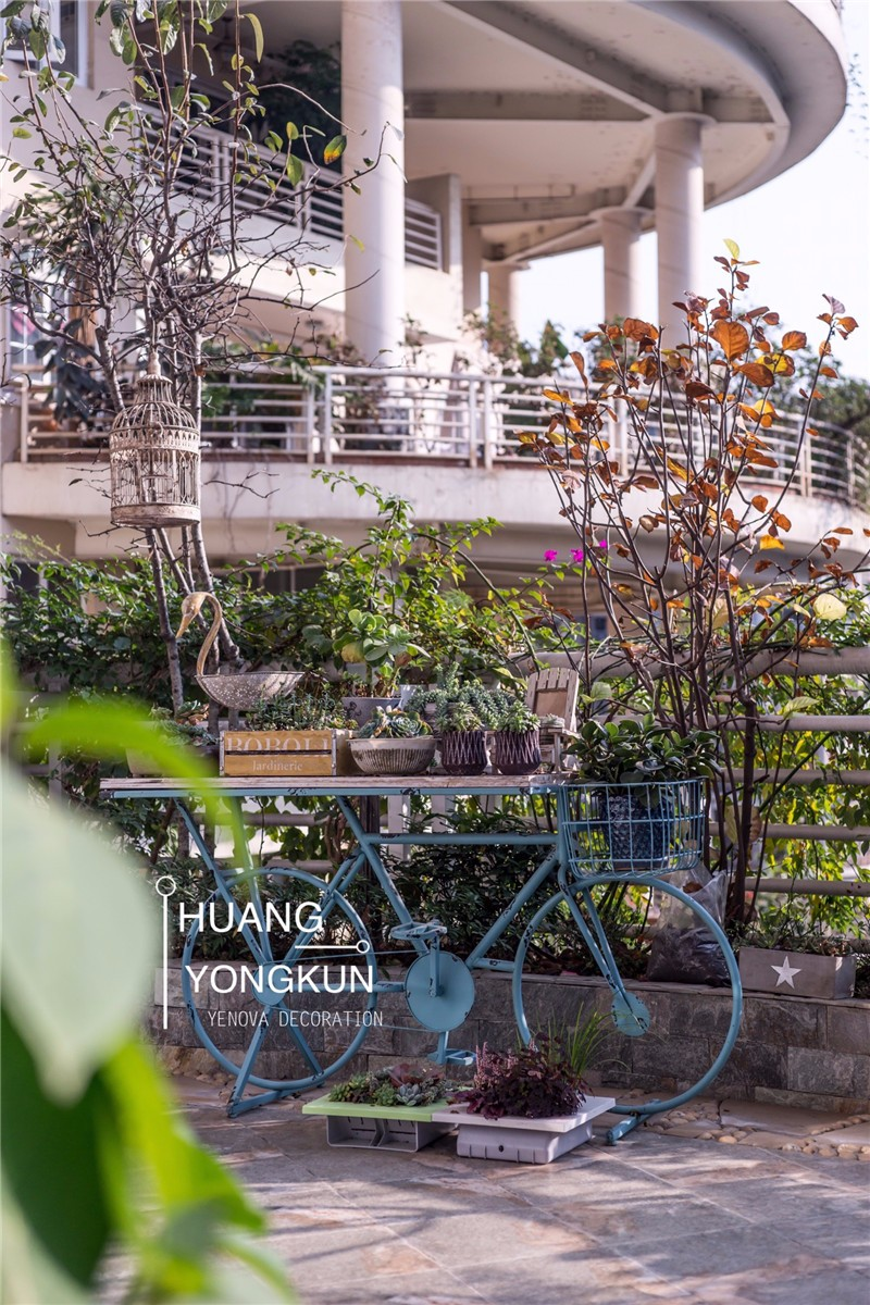 成都業之峰裝飾公司 天鵝湖花園280平大平層設計裝修實景