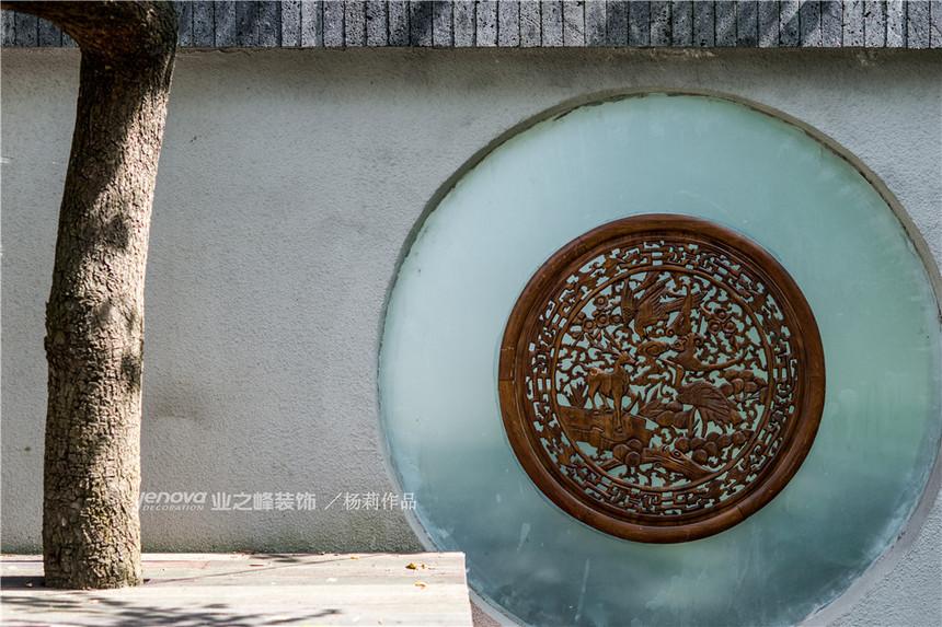 成都业之峰青城鉴山别墅装修实景