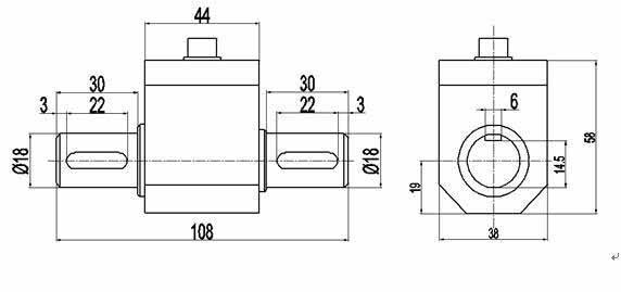PTQ-A动态扭矩传感器