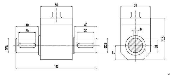 PTQ-500B动态扭矩传感器