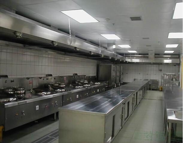 厨房副食烹饪区场景图