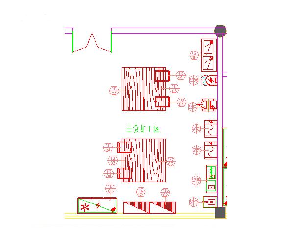商用厨房设备系统解决方案,厨房设备工程面点间图