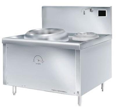 厨房设备厂家电磁单头单尾小炒炉