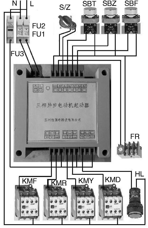 电动机星角降压启动控制器及其应用