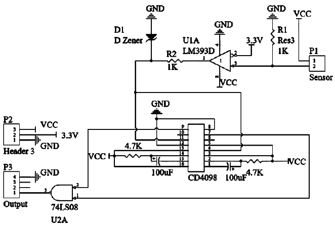 电子报 电子报热点         cd4098属于双可重触发单稳态触发器,其