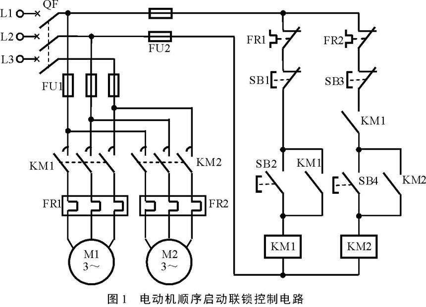 三相异步电动机的顺序控制电路