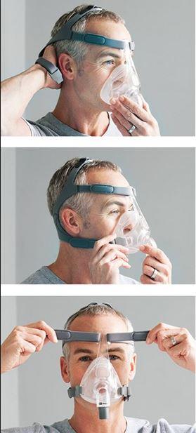 费雪派克Simplus家用睡眠呼吸机CPAP全脸口鼻面罩带头带-思利浦商城5.jpg