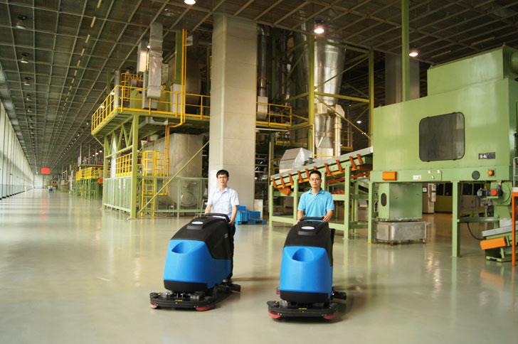 Gadlee嘉得力中国烟草厂清洁洗地机
