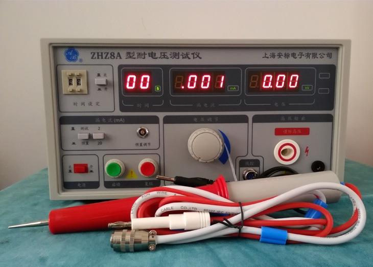 耐电压测试仪出现的常见故障及解决方法