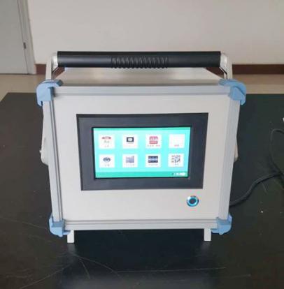 国产自主研发首台全触摸式电焊机现场校准仪