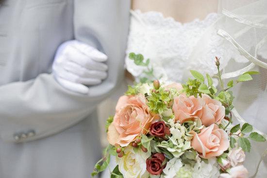 男女婚姻结合形象图-网络图