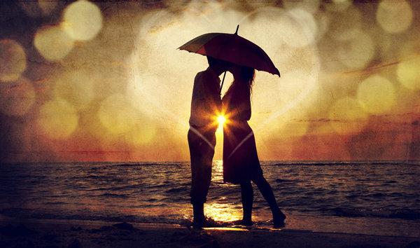 唯美浪漫爱情形象图