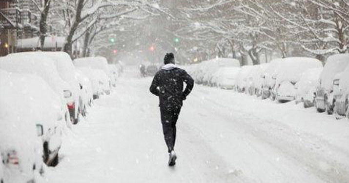 寒冷冬天坚持身体锻炼