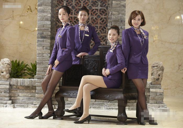 厦门叁度养生会所制服丝袜美女技师宣传图片