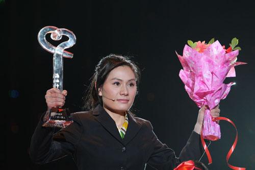 2010年度感动中国人物刘丽颁奖现场