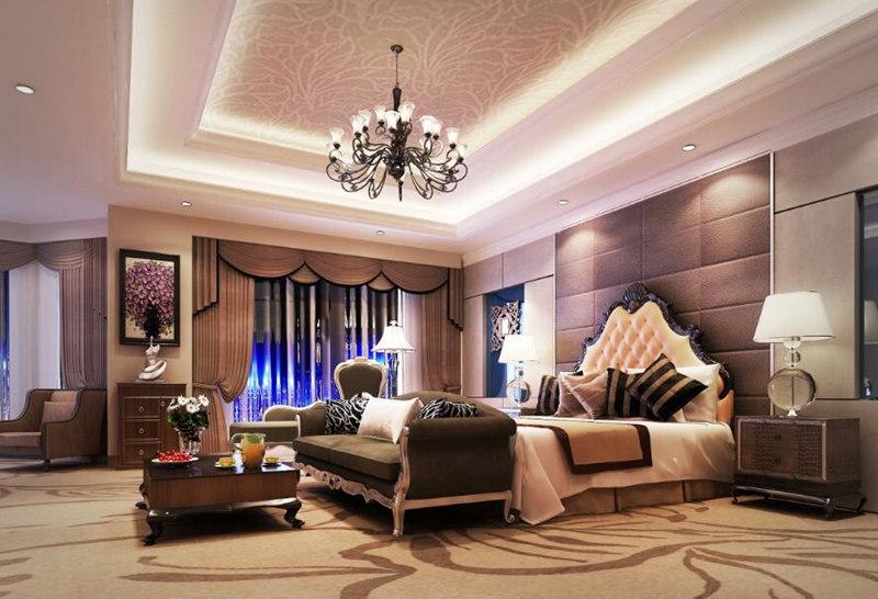 厦门五星级酒店客房奢华装饰