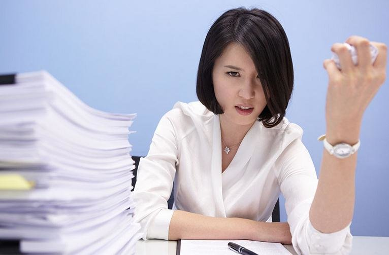 职场女性压力大