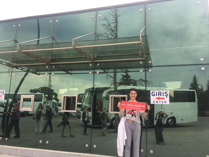 欧邻ollnear纳米微气泡净水器被欧洲女生追捧