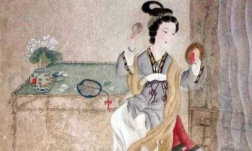 古代女人美白