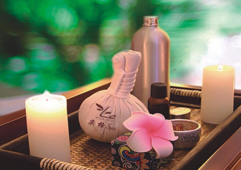Le Spa·奕格水疗精油、香薰蜡烛等异域风情美容产品展示