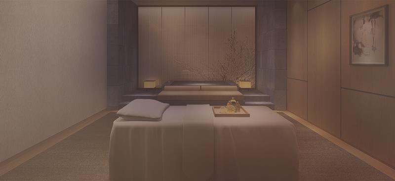 厦门佳逸酒店水疗spa按摩房大床