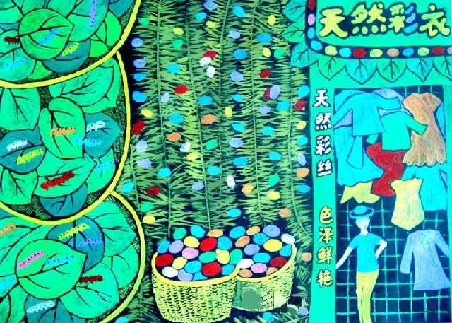《彩色蚕茧》蒋悦 女  12  邗江区头桥镇中心小学  严春  二等奖gggggg.jpg