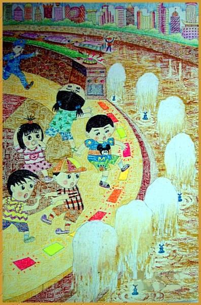 《傍水平台的卫士》庄嘉女11导师:黄铸.jpg
