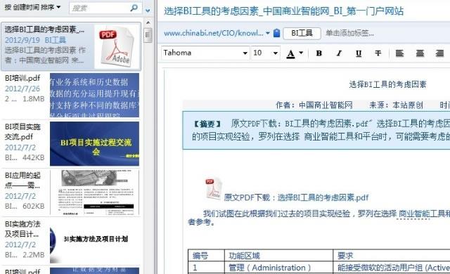 高效工作的信息搜集及管理术 好文分享 第13张
