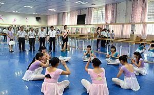 四川幼师学校舞蹈实训室