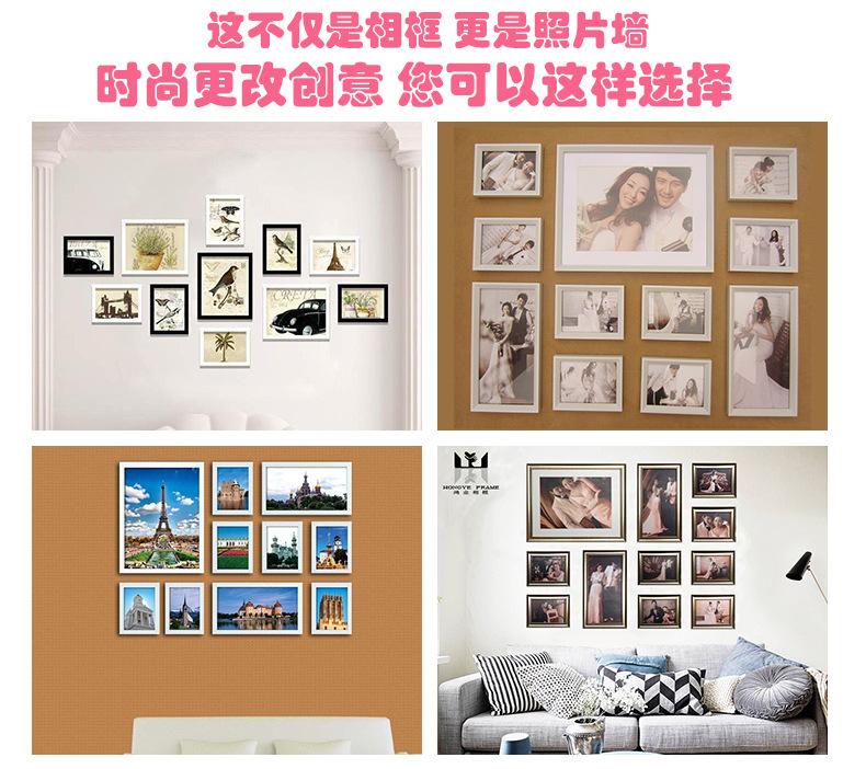 深圳相框厂家定制批发欧式复古PS材质镜框酒店浴室洗手间镜框