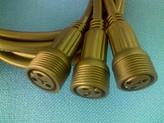 供应LED大功率路灯防水插头