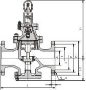 Y43H活塞式蒸汽減壓閥結構圖.png