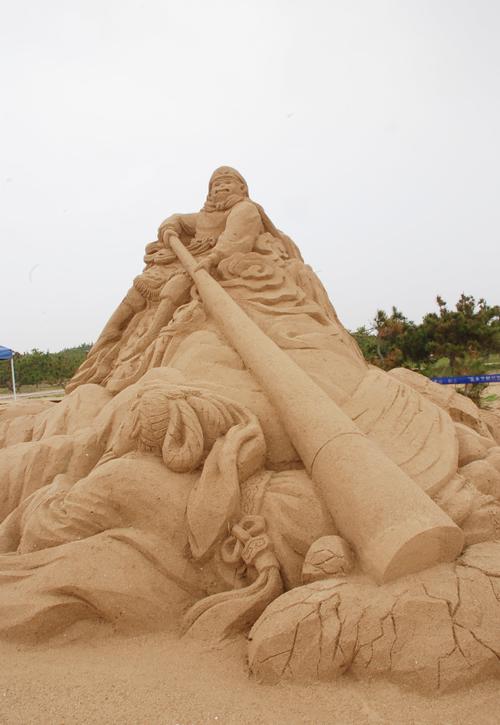 游在海阳|海阳国际沙雕艺术公园