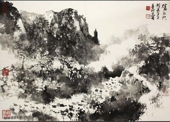 汪家芳写生作品 2014