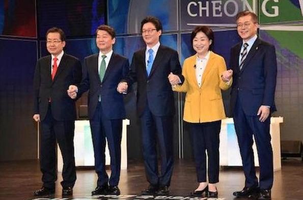 韩国五党候选人—阿里返佣网