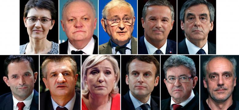 法国大选候选人