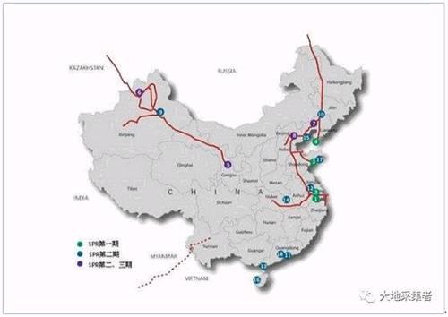 图五 国内原油储备库