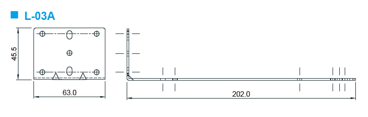 L-03A台达电源支架